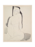 Amedeo Modigliani - Seated Nude Giclee Print