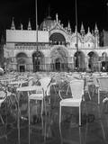 Chairs in San Marco Photographic Print by Moises Levy