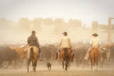 Cowboys Best Friend Photographic Print by Dan Ballard