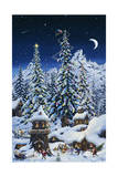 Christmas with the Elves Giclee Print by Jeff Tift