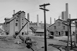 Calumet and Hecla Smelters Photographic Print