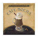 Cafe Mocha Giclee Print by Lisa Audit