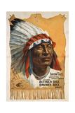 Buffalo Bills Wild West III Giclee Print