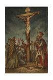 Cross Giclee Print by Val Bochkov