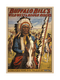 Buffalo Bills Wild West II Giclee Print