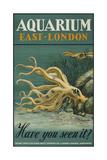 Aquarium, East-London Giclée-tryk