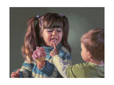 Cold Tongue Warm Heart Giclee Print by Bob Byerley