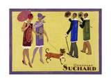 Candy People Chocolat Suchard Wydruk giclee
