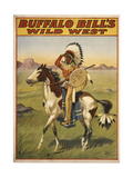 Buffalo Bills Wild West IV Giclee Print