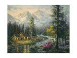 Camper's Cabin Impression giclée par Nicky Boehme