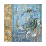 Crab and Sea Giclee Print