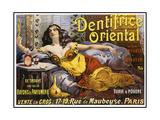 Dentrifice Oriental Giclee Print