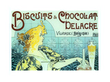 Chocolate Biscuits Giclee Print