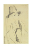 Amedeo Modigliani - Mario the Musician Giclee Print