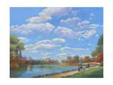 Central Park Vista Giclee Print by John Zaccheo