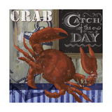 Crab Giclee Print by Fiona Stokes-Gilbert