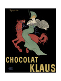 Chocolate Klaus Giclee Print