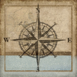 Compass Rose I Giclee Print by Karen Williams