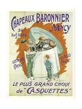 Chapeaux Baronnier Gicléedruk