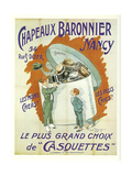 Chapeaux Baronnier Giclee-vedos