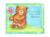 Celebrate Precious Bear Giclee Print by Melinda Hipsher