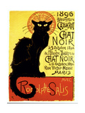 Kara kedi - Giclee Baskı