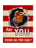 Are You Doing All You Can? Digitálně vytištěná reprodukce