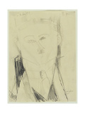 Amedeo Modigliani - Paul Guillaume Giclee Print
