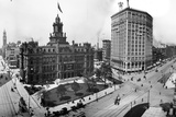 City Hall and Campus Martius, Detroit Photographic Print