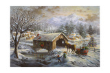 Covered Bridge Giclee Print by Nicky Boehme