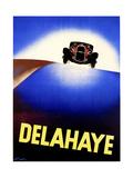 Delahaye Giclee Print