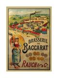 Brasserie de Baccarat Giclee Print