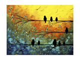 Birds of a Feather Giclee Print by Megan Aroon Duncanson