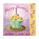 Cupcake Holidays I Giclee Print by Fiona Stokes-Gilbert