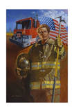 Homeguard Giclee Print by Hal Frenck