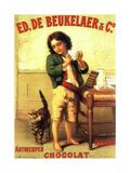 Ed De Beukelaer Chocolate Antwerpen Giclee Print