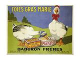 Foiesgrasmarie Giclee Print