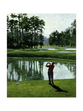 Golf Course 9 Giclée-tryk af William Vanderdasson