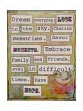 Dream Everyday Giclee Print by Tammy Kushnir