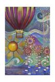 Hot Air Balloon Giclee Print by Carla Bank