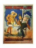 Grande Brasserie de La Loire Giclee Print