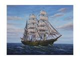 Clipper Ship Giclee Print by Bruce Dumas