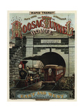 Hoosac Tunnel Giclee Print