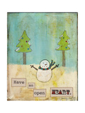 Have an Open Heart Giclee Print by Tammy Kushnir