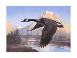 Goose Mtn Giclee Print by Rusty Frentner