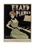 Erard Pianos Giclee Print
