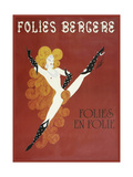Folies Bergere Risque Giclee Print