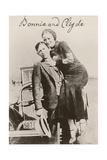 Bonnie and Clyde Ii Giclee Print