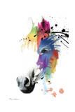 Horse Portrait Giclee Print by Mark Ashkenazi