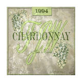 FJW Chardonnay Giclee Print by Karen Williams